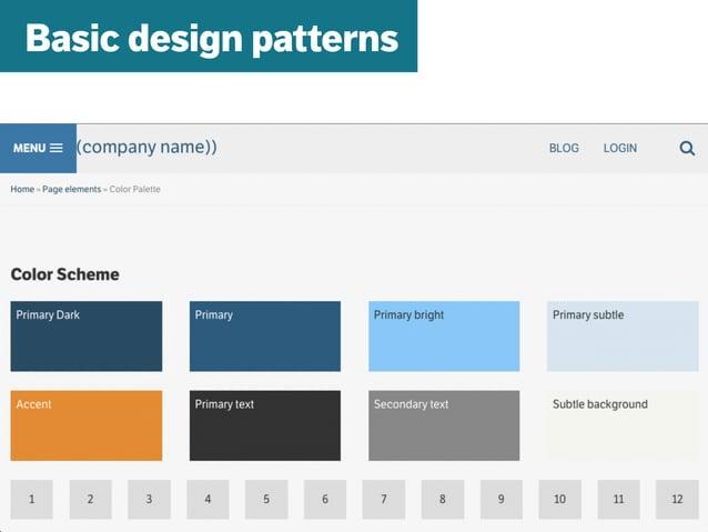 mazze.ch | matthias walti informationsarchitekt Basic design patterns