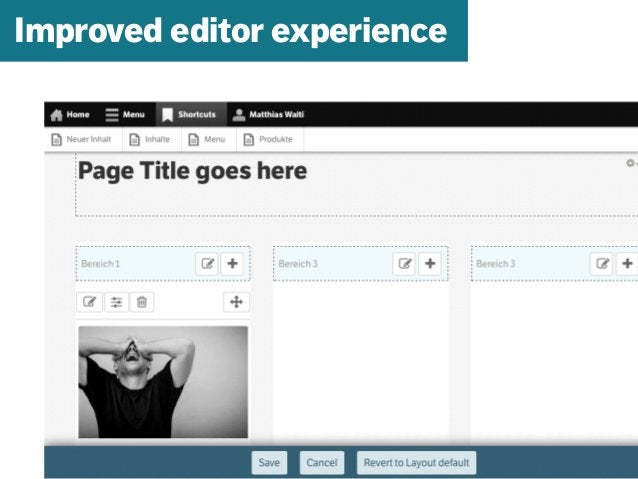 mazze.ch | matthias walti informationsarchitekt Improved editor experience