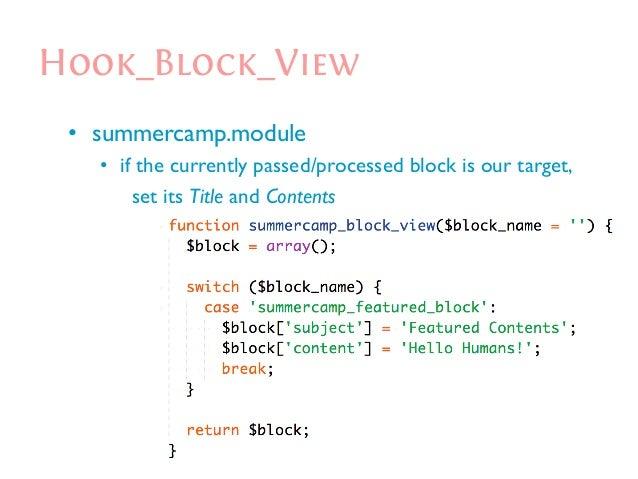The Synergy of Drupal Hooks/APIs (Custom Module Development