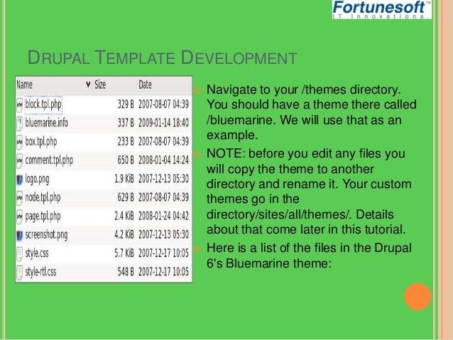 drupal theme development