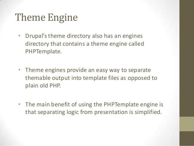 Drupal theming Slide 2