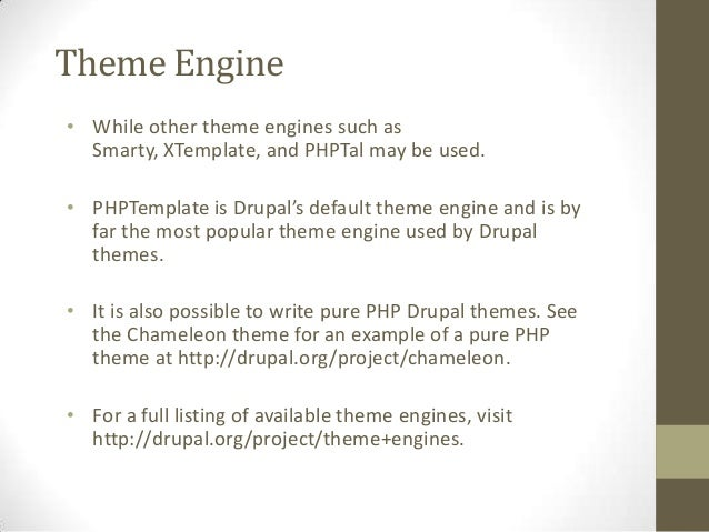 Drupal theming Slide 3