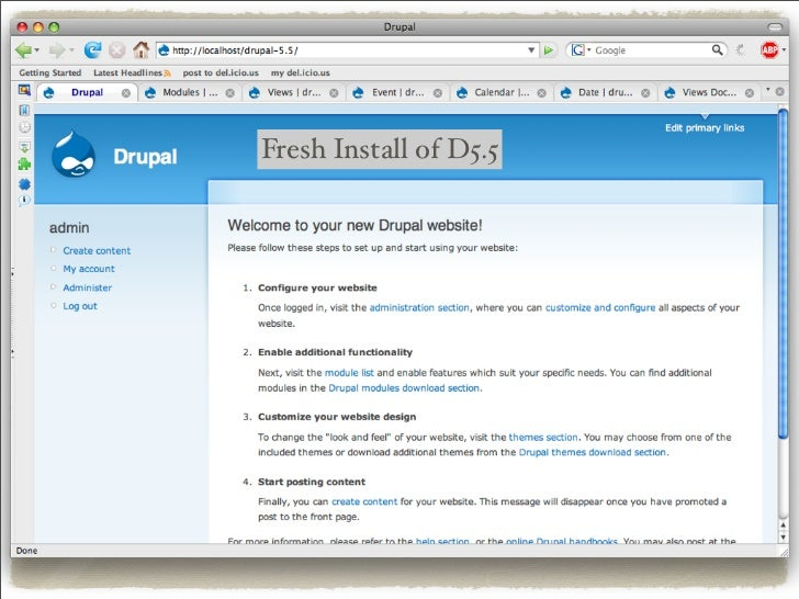 Drupal Views Event Presentation Slide 3