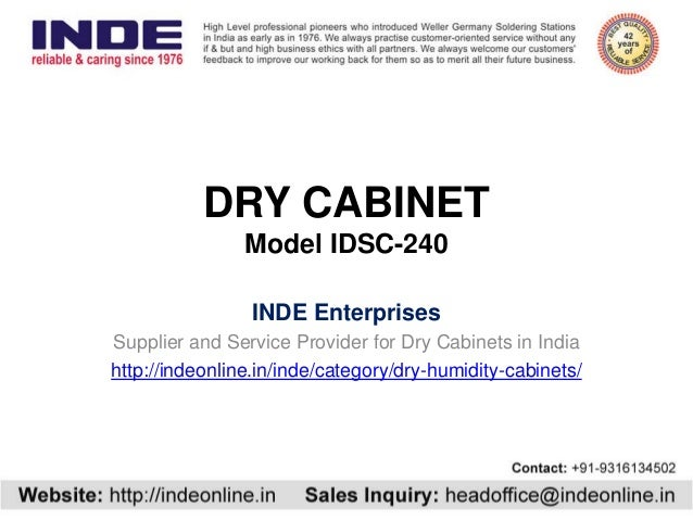 Dry Cabinet Idsc 240 With 5 50 Rh For Dehumidifying Storage