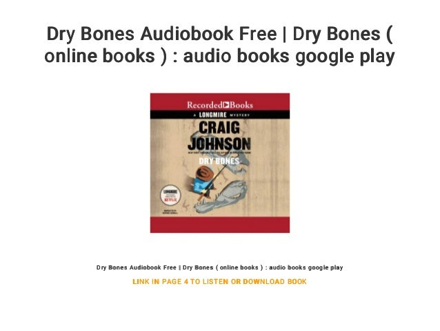 Dry Bones Audiobook Free | Dry Bones ( online books ) : audio books g…