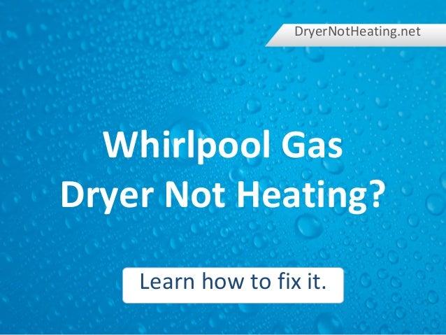 Heating: Lg Dryer Not Heating