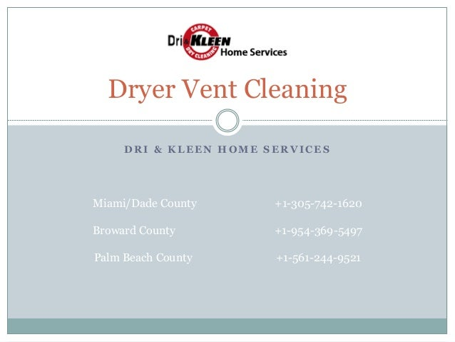 Dryer Vent Cleaning Drikleenhomeservice
