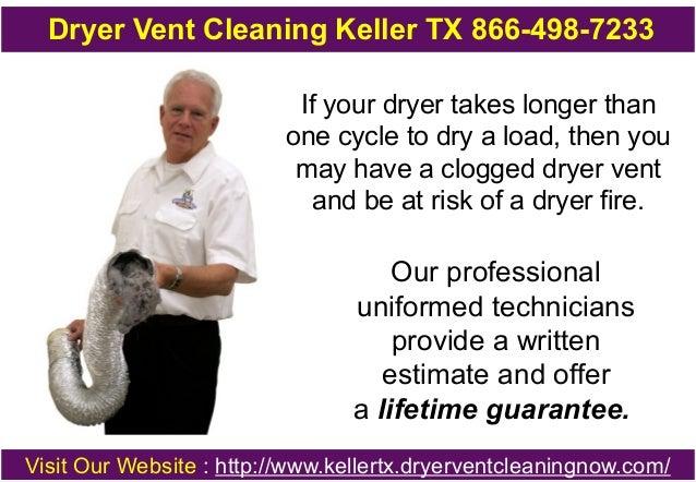 Dryer Vent Cleaning Keller TX 866-498-7233 Slide 2