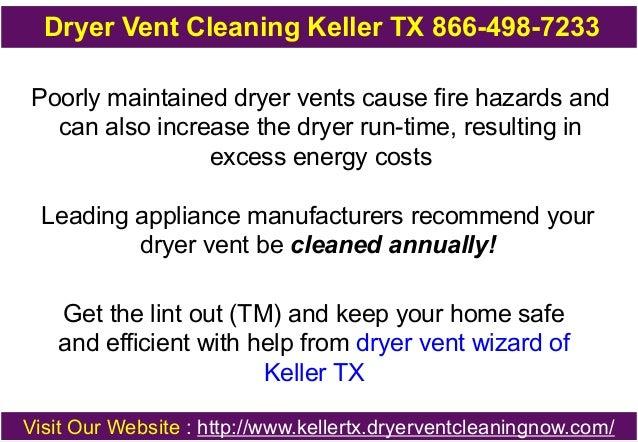 Dryer Vent Cleaning Keller TX 866-498-7233 Slide 3