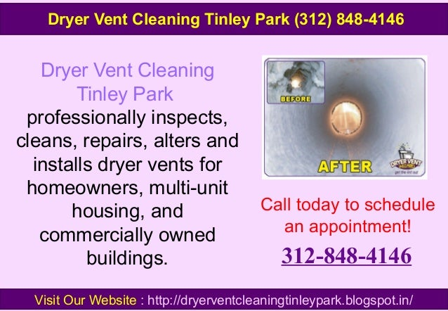 Dryer Vent Cleaning Tinley Park professionally inspects, cleans, repairs, alters and installs dryer vents for homeowners, ...