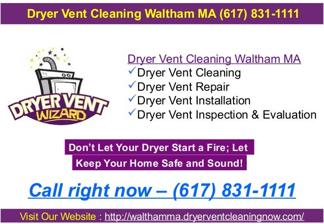 Dryer Vent Cleaning Waltham Ma 617 831 1111
