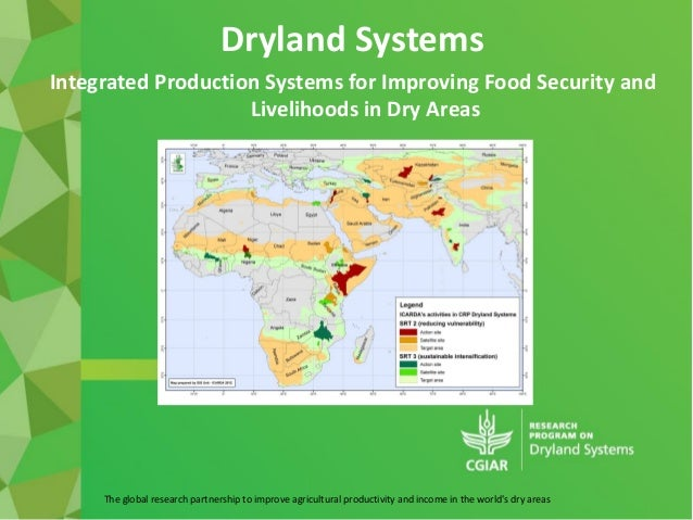 The global research partnership to improve agricultural productivity and income in the worlds dry areasDryland SystemsInte...