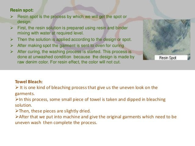 Resin spot:  Resin spot is the process by which we will get the spot or design.  First, the resin solution is prepared u...