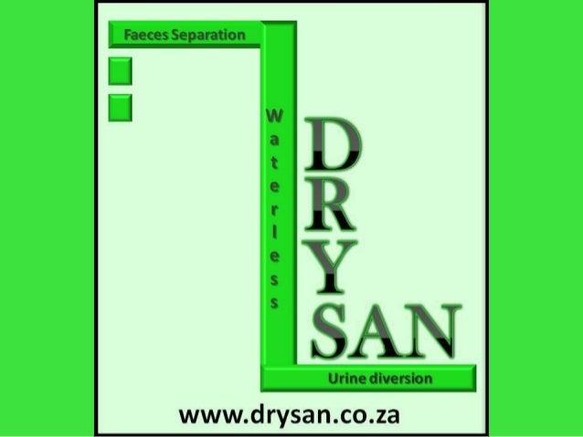 DRYSAN         ENVIRONMENTALLY FRIENDLY             WATERLESS TOILET               Pedestal or Squat toilet              ...