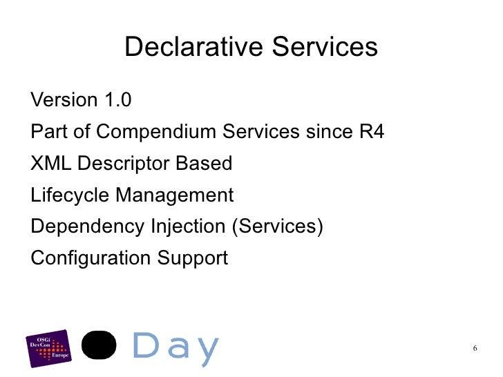 Configuration Admin