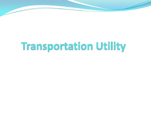 Image result for transportation utility fee