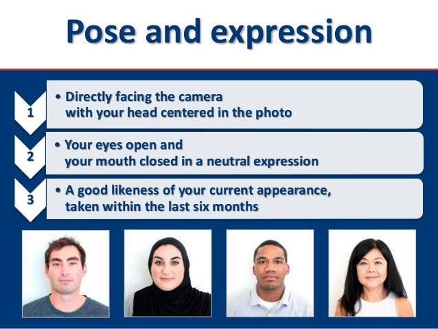 U S  Nonimmigrant Visas - DS-160 Photo Requirements