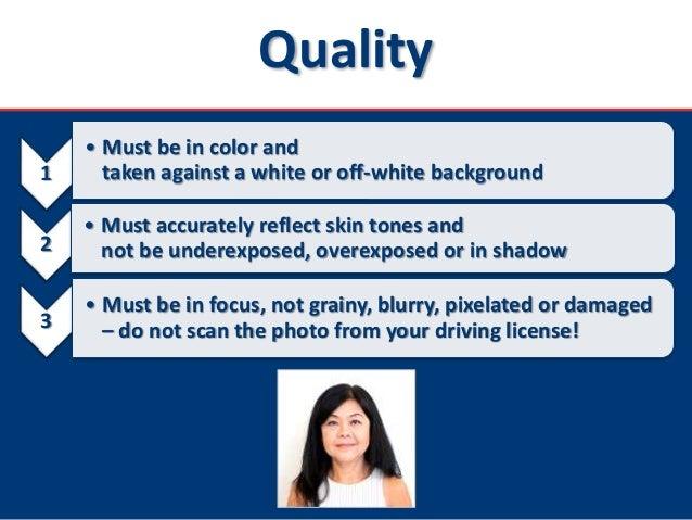 U.S. Nonimmigrant Visas - DS-160 Photo Requirements