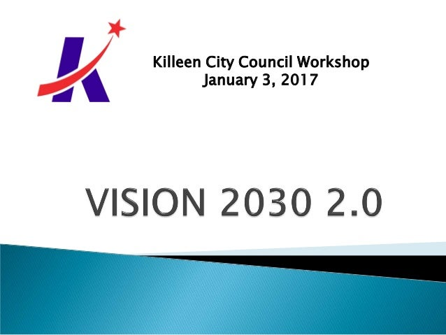 Killeen City Council Workshop January 3, 2017
