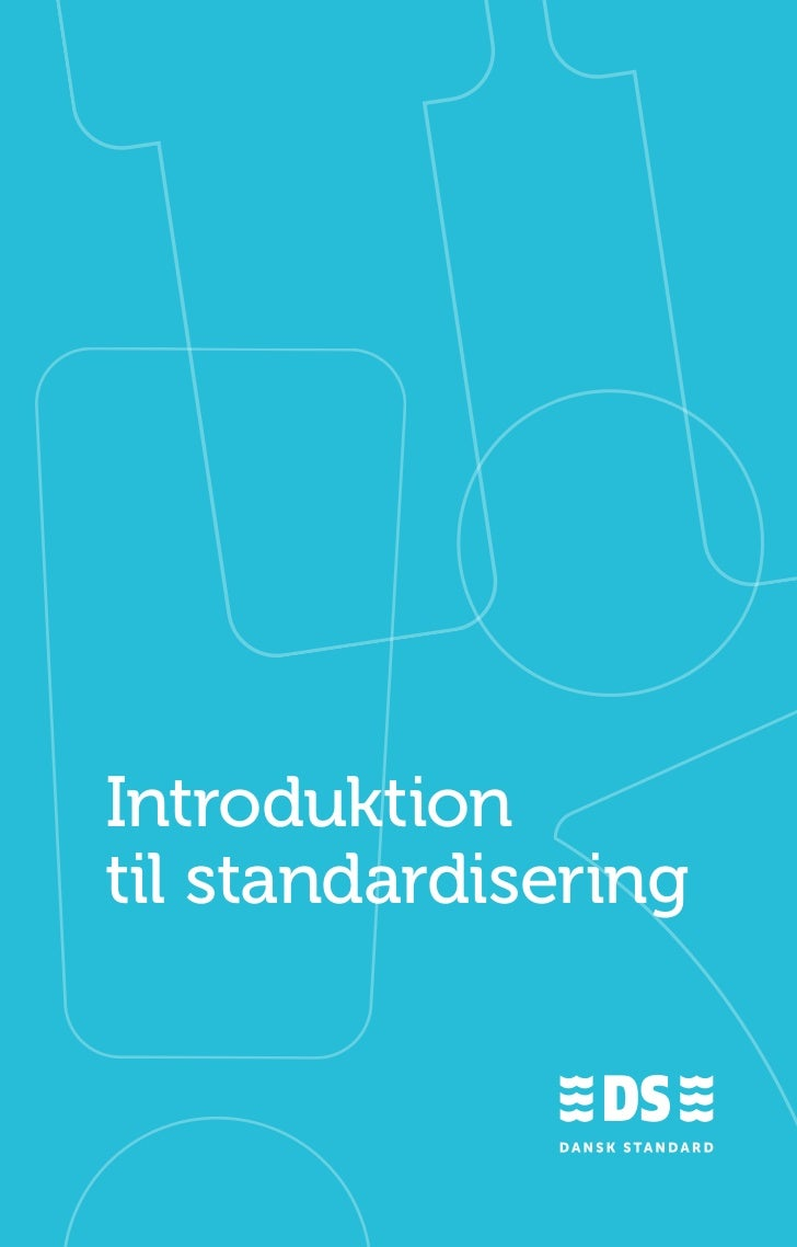 Introduktiontil standardisering                      1