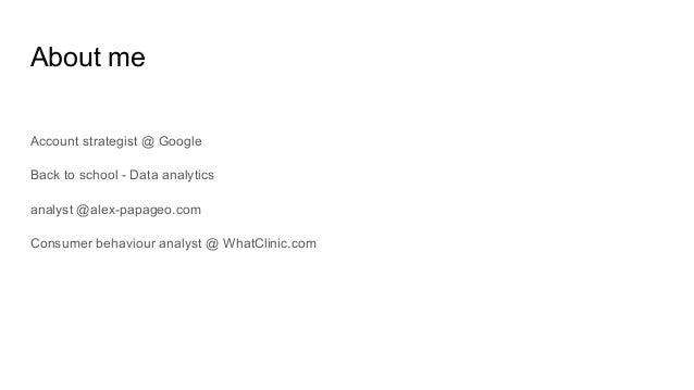 Data science with Google Analytics @MeasureCamp Slide 2