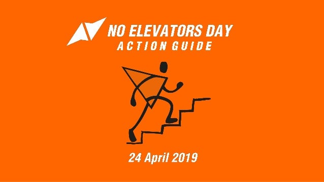 No Elevators Day is all about incorporating physical activity into your busy day. We want to get as many people involved a...