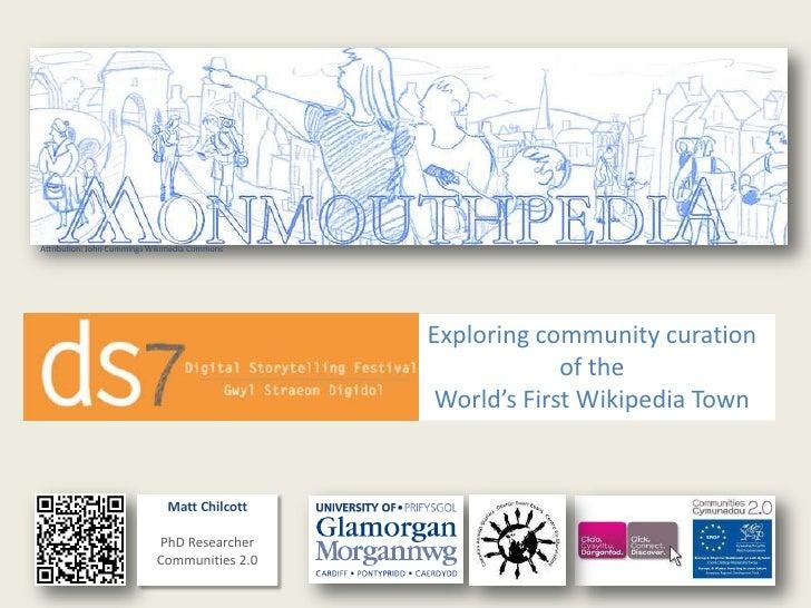 Attribution: John Cummings Wikimedia Commons                                               Exploring community curation   ...