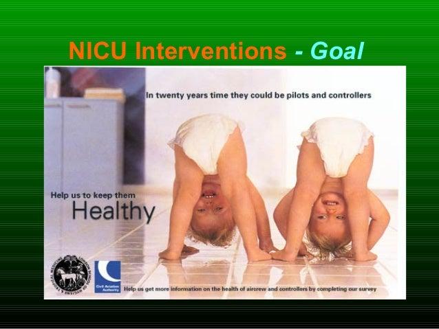 NICU Interventions - Goal