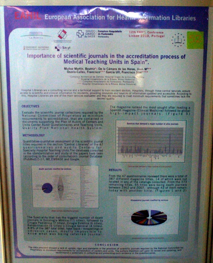 Importance of scientific journals in the accreditation process of Medical Teaching Units in Spain