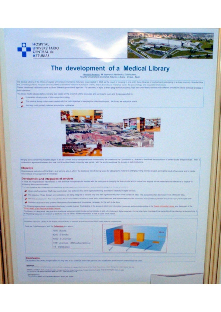 The development of a medical library(Poster EAHIL2010)