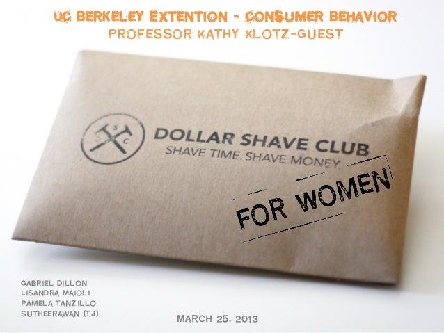Dollar Shava Club For Women