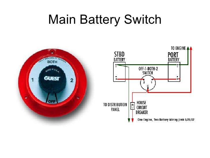 marine battery switch wiring 3 way   34 wiring diagram