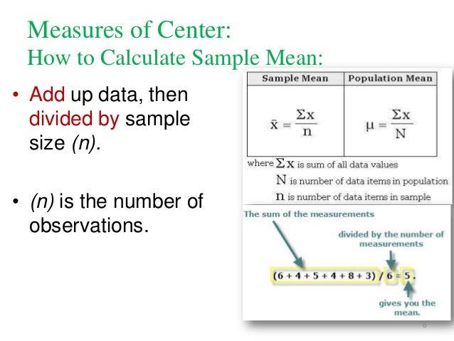 Dscriptive statistics