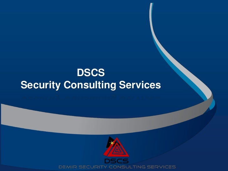 DSCSSecurity Consulting Services