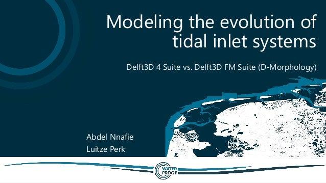 Delft3D 4 Suite vs. Delft3D FM Suite (D-Morphology) Modeling the evolution of tidal inlet systems Abdel Nnafie Luitze Perk