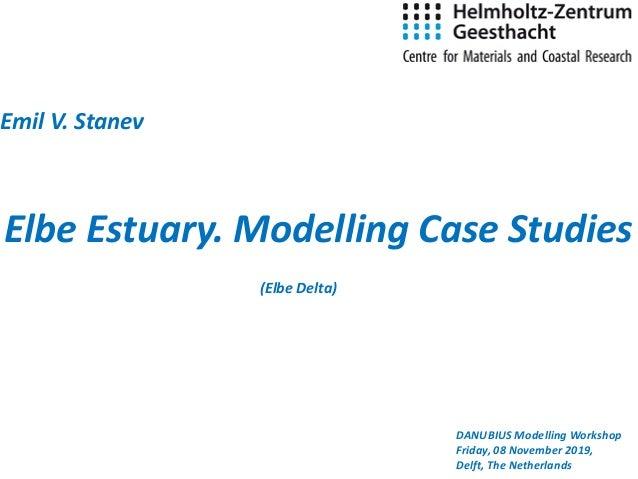 Elbe Estuary. Modelling Case Studies Emil V. Stanev DANUBIUS Modelling Workshop Friday, 08 November 2019, Delft, The Nethe...