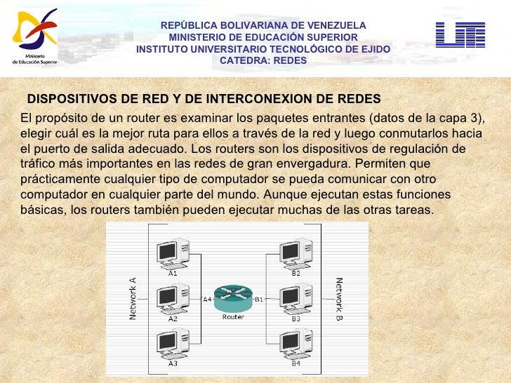 REPÚBLICA BOLIVARIANA DE VENEZUELA MINISTERIO DE EDUCACIÓN SUPERIOR INSTITUTO UNIVERSITARIO TECNOLÓGICO DE EJIDO CATEDRA: ...