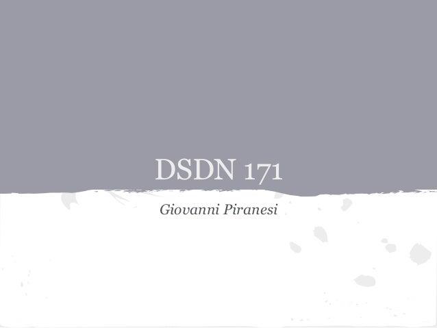 DSDN 171Giovanni Piranesi