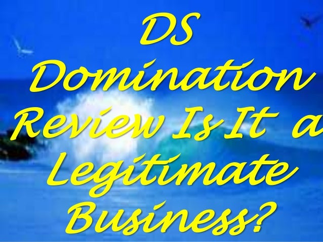 DS Domination Review Is It a Legitimate Business?