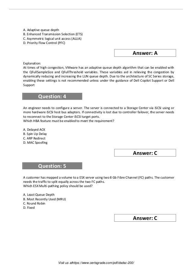 Dsdsc 200 practice exam software