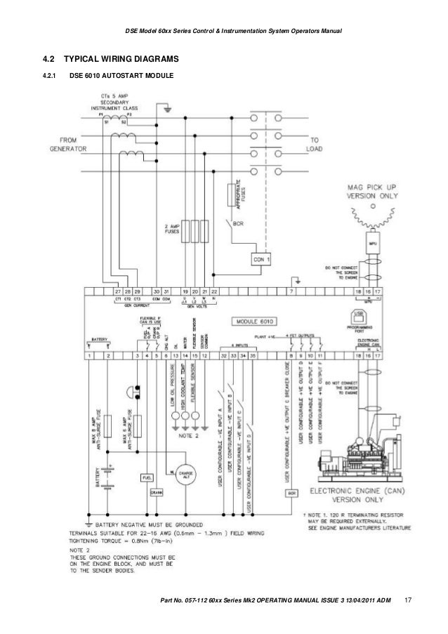 dse 7320 wiring diagram pdf