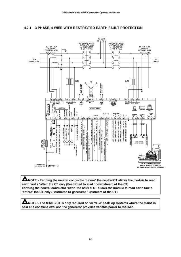 dse8620 operatorsmanual 46 638?cb=1409060349 100 [ wiring diagram amf genset ] electrical wiring electrical dse 7320 wiring diagram at soozxer.org