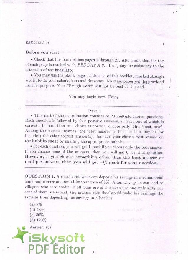 high school entrance exam pdf