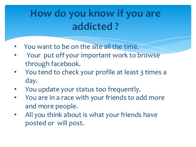 facebook addiction and peer relationship Don't let social media be a third party in your relationship relationship problems facebook and relationships relationship issues caused by facebook.