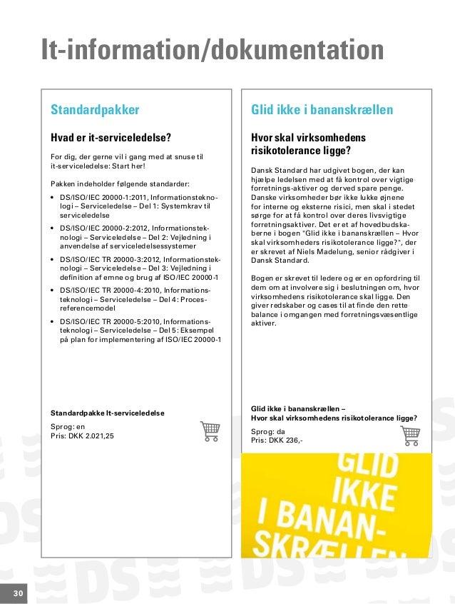 Dansk Standards håndbogskatalog - Forår/2013
