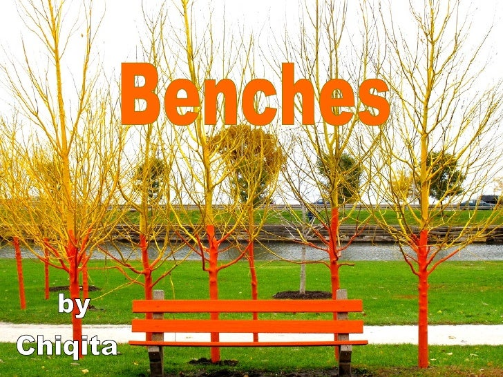 Benches Chiqita by