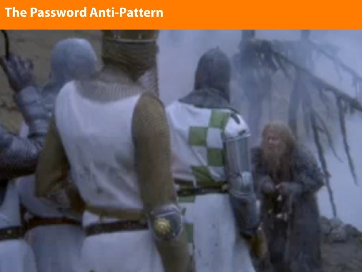 The Password Anti-Pattern Enter text here