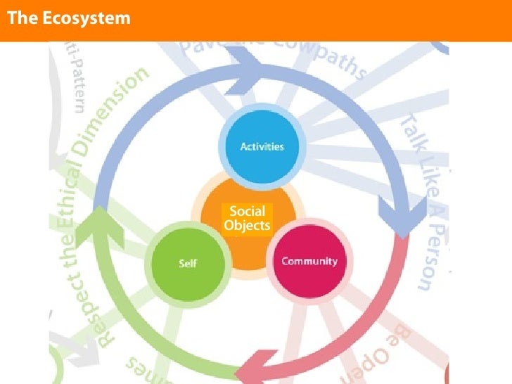 The Ecosystem                      Social                 Objects