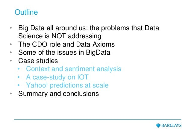 Usama Fayyad talk in South Africa: From BigData to Data Science