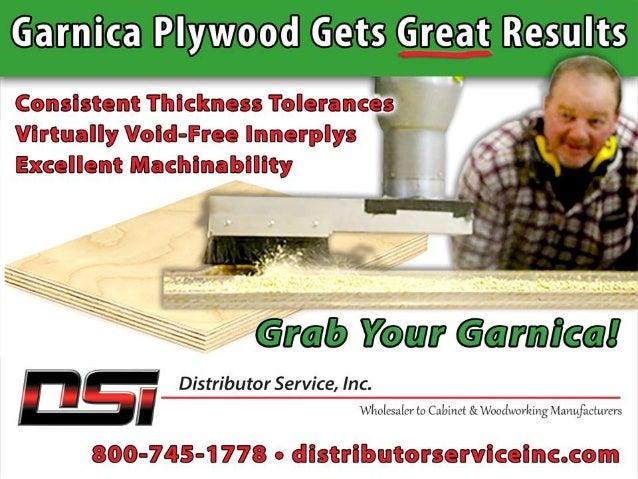 The Garnica Plywood Advantage Garnica's plantation-grown, poplar plywood panels boast virtually void-free innerplys that a...